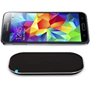 CHOETECH Qi Wireless Charger Kit for Galaxy S5 Including Wireless Charging Pad and Wireless Charging Receiver (May not Compatible with OEM S-View Flip Cover)