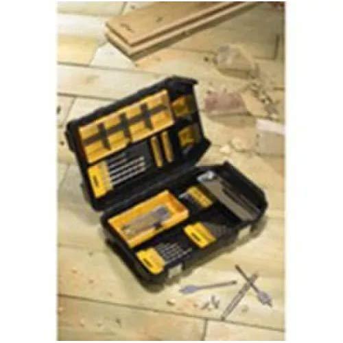 DeWalt Juego de Brocas para Madera y Puntas DT9282-QZ, 57 Piezas en maletín de Accesorios XL Maxisafe