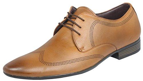 Egoss Men's Leather Formal Shoes - 7 UK/India (41 EU)
