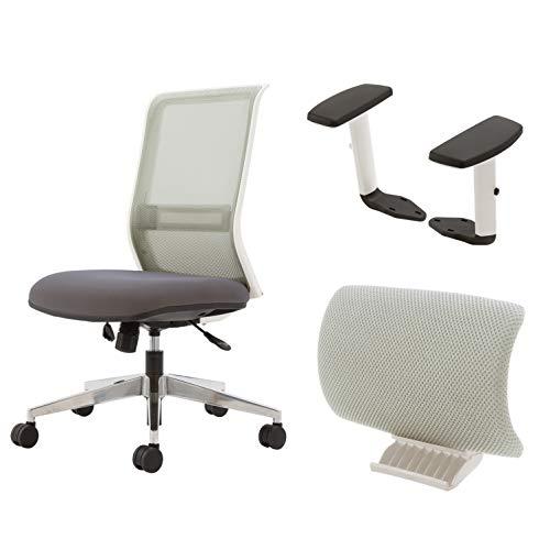 コクヨ エントリー 椅子 グレー メッシュタイプ デスクチェア 事務椅子 コクヨリーズナブルシリーズ CR-AL9...