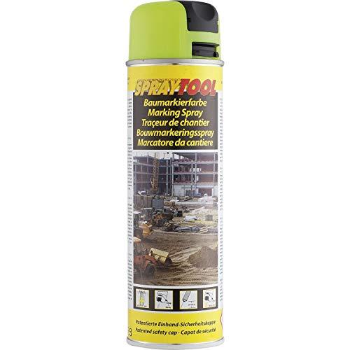 DUPLI-COLOR Markierungsspray 500 ml, 1 Stück, neongelb,119620