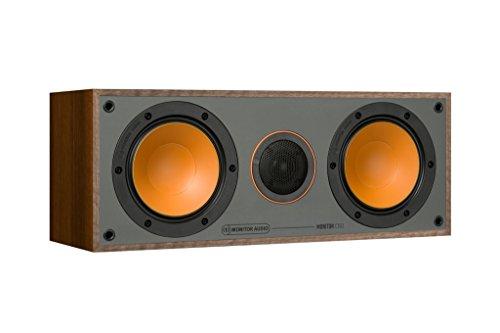 Monitor Audio C150 - Altoparlante centrale colore noce