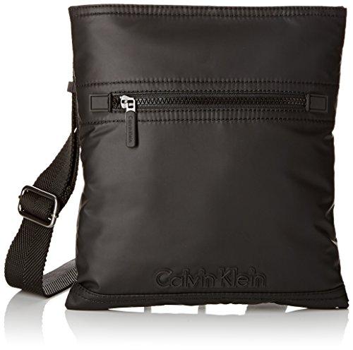 Calvin Klein Hombre Metro Organizador Embrague, Color Negro, Talla 28x25x3 cm (B...