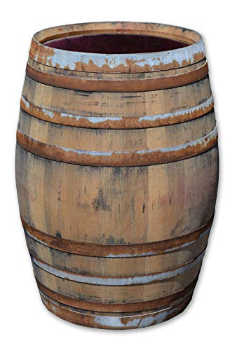 Temesso Regentonne, Holzfass, Weinfass Barrique aus Eiche 225 Liter - rustikal