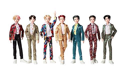 Mattel BTS11: Pacchetto Composto da 7 Bambole Ispirato A Bangtan Boys Global Boy Band, Giochi di Alta QUALITA' per Ragazzi E Ragazze dai 6 Anni in su