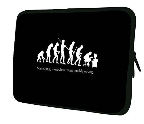 Luxburg® 13,3 Zoll Notebooktasche Laptoptasche Tasche aus Neopren Schutzhülle Sleeve für Laptop/Notebook Computer Tablet