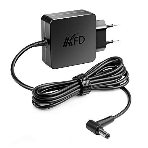 KFD AC Adaptador 45W Alimentador Cargador portátil para ASUS F555L F552C F551M F551C S550C X551C X54C X551M X555L X554L A52F AD883220 010KLF Bah Toshiba Z30 X551MA X551CA 19V 2.37A No para Zenbook
