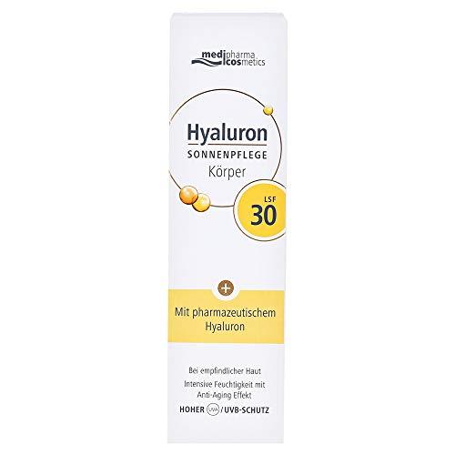 medipharma cosmetics HYALURON SONNENPFLEGE Körper Creme LSF 30, 150 ml