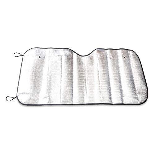 MOBFIDOFG Ventana Frontal UV Protect ventanilla del Coche automático de Parabrisas Parasol Sol Cubierta de Sombra de la Visera Parasol Frontal 130cm Trasero detrás for el Coche 60cm