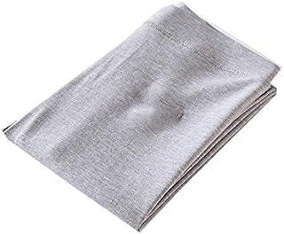 Yuen Leggings/Pantalones Exteriores de Mujer/Pantalones de algodón de Cintura Alta(L, Light Ash)