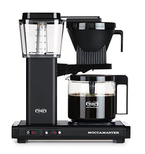 Moccamaster Filter Kaffeemaschine KBG 741 AO, 1.25 Liter, 1520 W, Matt Black
