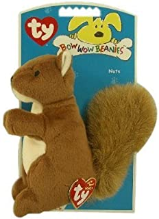 Ty Bow Wow Beanies Nuts - Squirrel