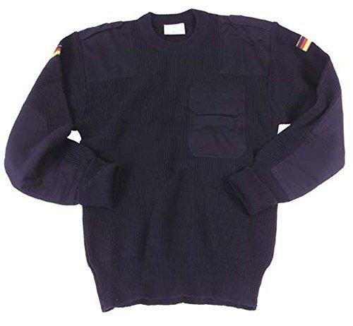 MFH klassischer Bundeswehr Pullover aus Polyacryl (Blau/50)