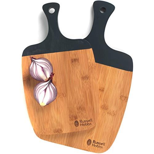 Deux planches à découper en bambou Russell Hobbs® BW063131, 33/38 cm