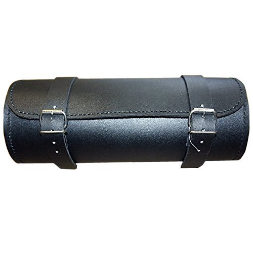 AL3544 Allstate Leather - Leather Motorcycle Tool Bag - Smooth finish & Double Buckle Close - 12