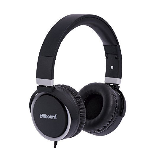 Billboard Audífono Extra Bass Over Ear (Negro)