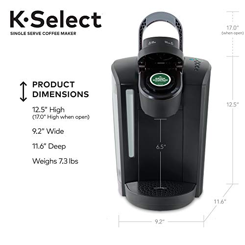 Keurig K-Select Coffee Maker What's in the Box