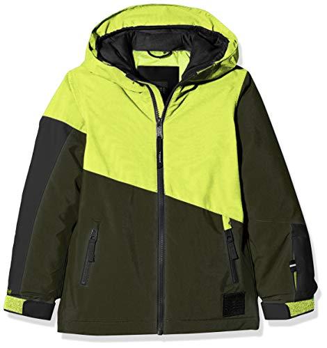 O'Neill Jungen PB MAGNATITE Jackets Snow, Lime Punch, 128