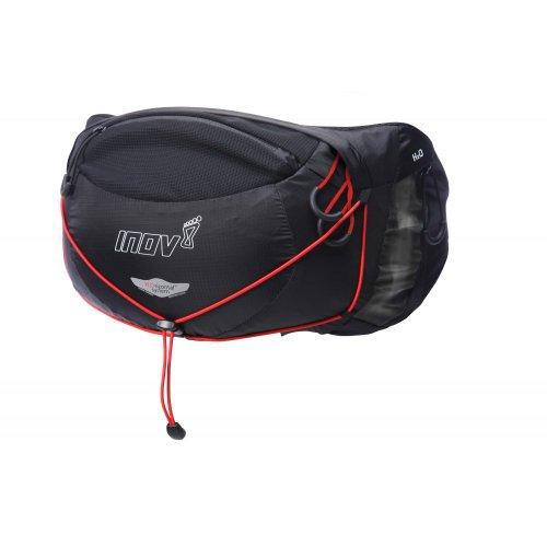Inov-8 SS14 Race Pro 3 Mochila, Color Negro/Rojo, tamaño ta