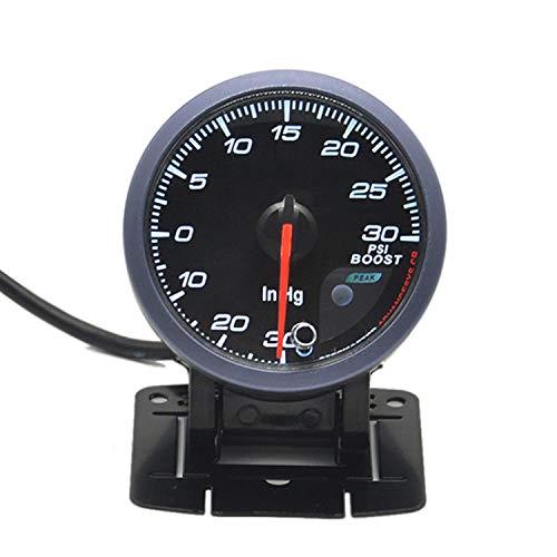 WEI-LUONG Instrumento del Coche 60mm Puntero Turbo Boost Gauge -30~30 PSI for el Coche del Carro del Barco Coche
