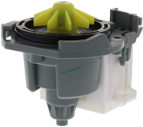 Primeco W10876537 Washer Drain Pump Compatible For Whirlpool W10876537, AP6004843, PS11738151, W10724439 made By OEM Parts Manufacturer - 1 YEAR WARRANTY