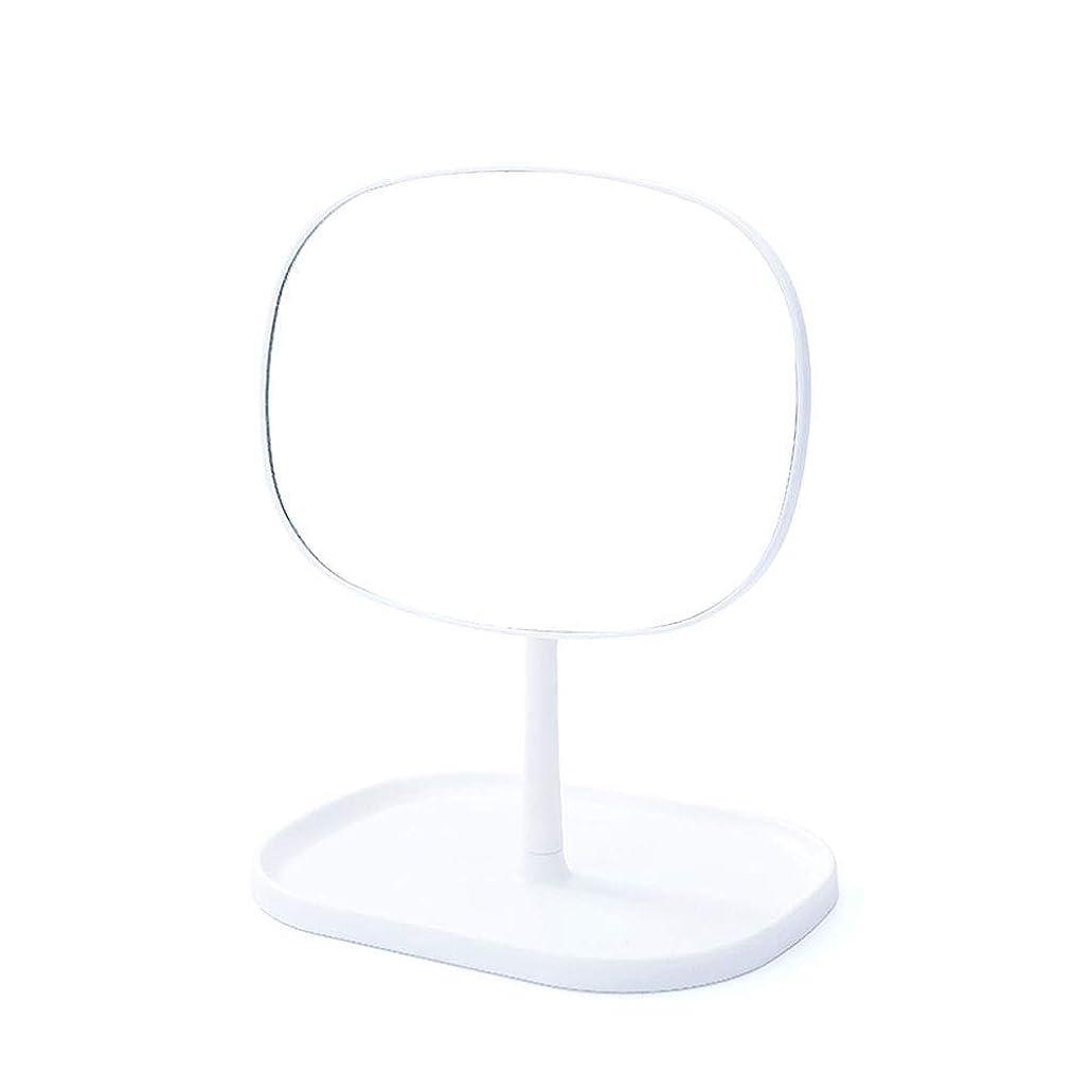 アミューズ進化する局化粧鏡 デスクトップ化粧鏡デスクトップラウンドミラー単一のミラー