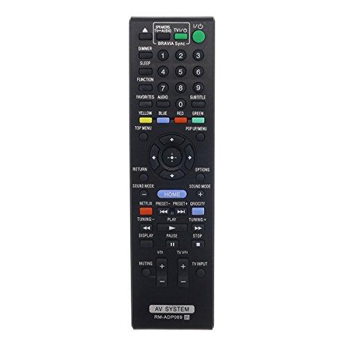 Control Remoto Compatible para Sony BDV-E2100 Receptor de Audio/Estéreo (Sistema de Sonido)