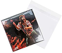 ClearBags 12.75 x 12.75 + Flap Crystal Clear Record Sleeves | Protective Outer Sleeves for 12 Inch Vinyl Record Albums | P...