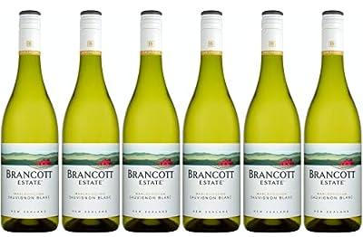 Brancott Estate Marlborough Sauvignon Blanc, New Zealand Crispy, Fruity and Sweet White Wine, 75 cl, Case of 6