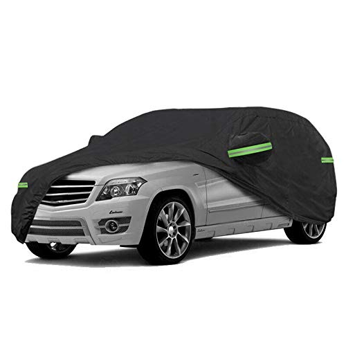 NEVERLAND Car Cover Hatchback Waterproof Heavy Duty 420D Oxford Windproof...
