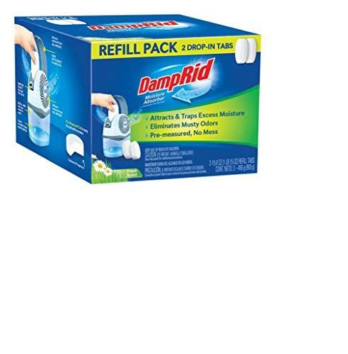 Damp Rid Fg97 Damprid Moisture Absorber Refill Pack 2 Count