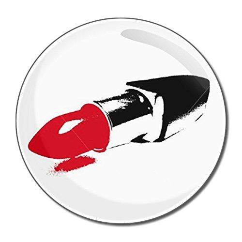 Lipstick - Miroir compact rond de 55 mm