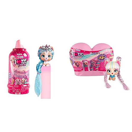 VIP Pets Glitter Twist Bambola A Sorpresa Cagnolini Da Collezione, Con Pettine E Capelli...