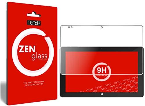 ZenGlass Flexible Glas-Folie kompatibel mit TrekStor SurfTab Twin 11.6 Panzerfolie I Bildschirm-Schutzfolie 9H