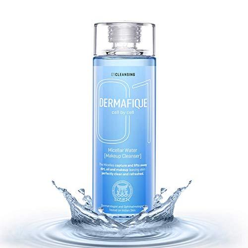 Dermafique Micellar Water Makeup Cleanser, Blue, 150ml