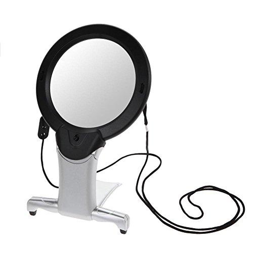 Vergrootglas Magnifier licht hars lens Ahomi 2,5 x 100 mm hals hung starr LED