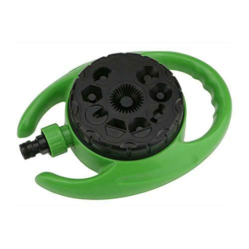ZIRAN Regadera del césped, rociadores automáticos del Agua del jardín Automat-Plastic del Sistema de riego del césped
