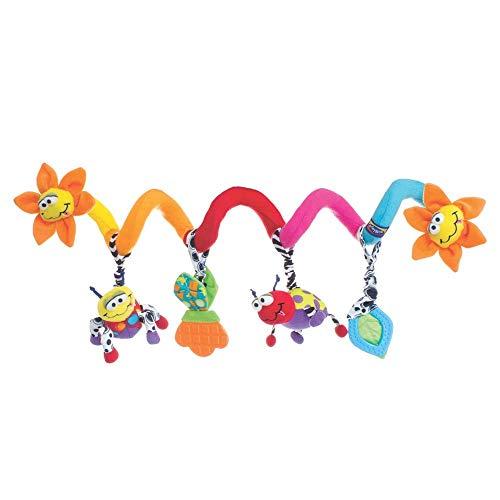 Playgro Kribbel Krabbel Käfer Kinderwagen Spirale, Ab 0 Monaten, Mehrfarbig, 40194