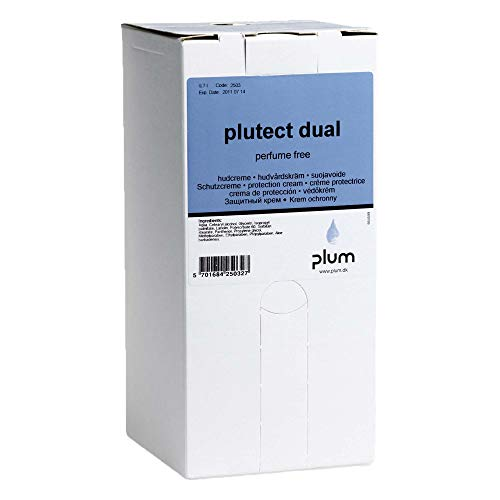 Plum 2503 Plutect, Hautschutzcreme Dual, bag in box, 700 mL (8-er Pack)