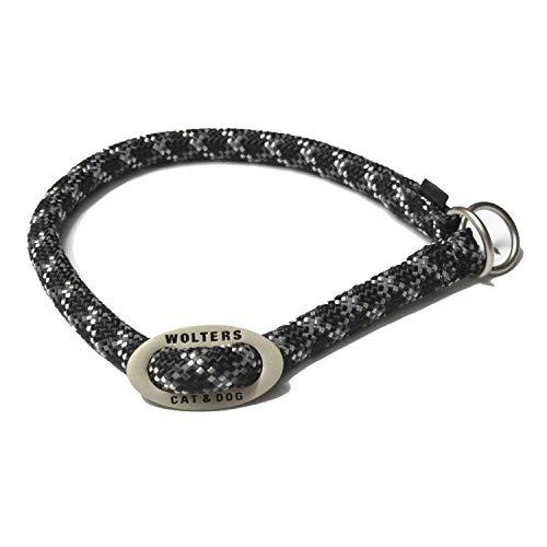 Wolters | Schlupfhalsband Everest reflektierend schwarz/graphit | Halsumfang 55 x B 1,3 cm