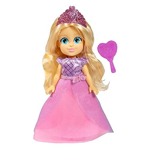 Famosa - Mini Muñeca de Love Diana de 15 cm, 5 personajes diferentes coleccionables, princesa, super heroína, bailarina, cumpleaños y doctora, envío aleatorio, para niñas mayores de 4 años (LVE06000)