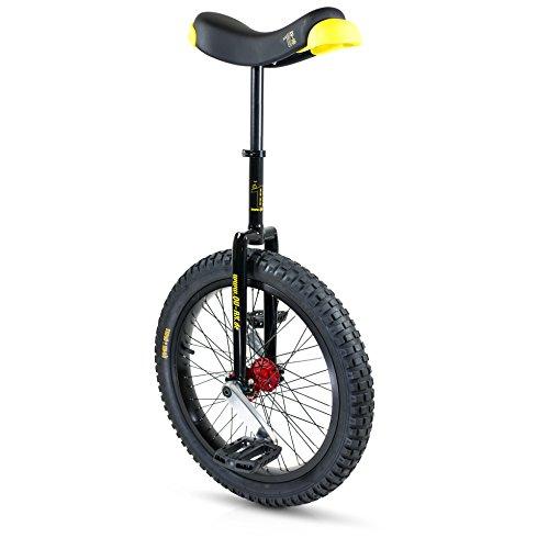 QU-AX Einrad-3095025000 Einrad, Schwarz, Einheitsgröße