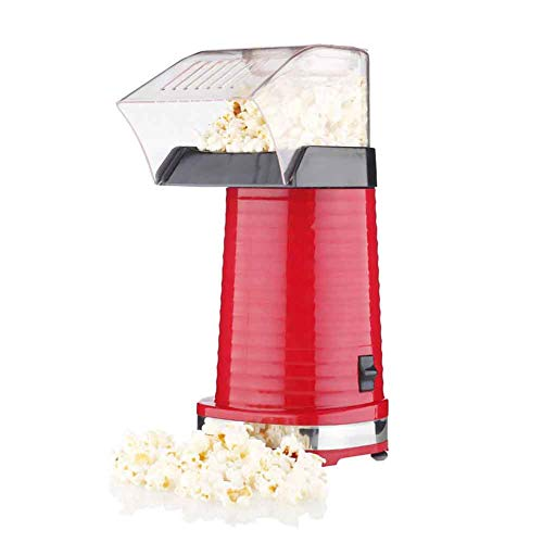 Lowest Price! Popcorn Maker Machine, Hot Air Popcorn Popper For Home, No Oil, Healthy Snack For Kids...