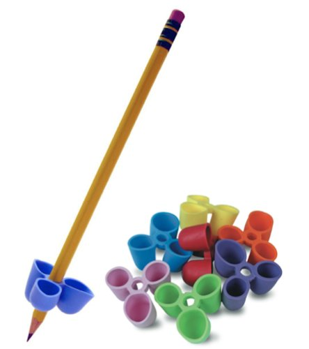 The Pencil Grip Writing CLAW for Pencils and Utensils, Small Size, 6 Count Assorted Colors (TPG-21106)