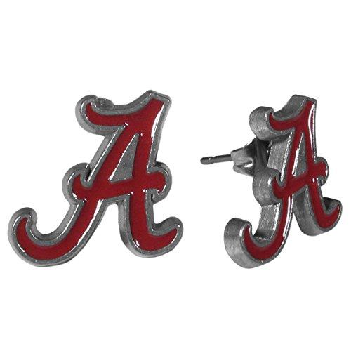 Siskiyou NCAA Alabama Crimson Tide Stud Earrings