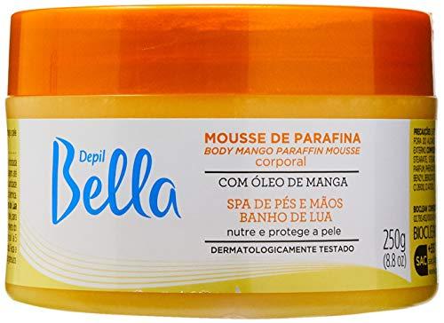 Mousse de parafina Óleo Manga, Depil Bella, 250 G