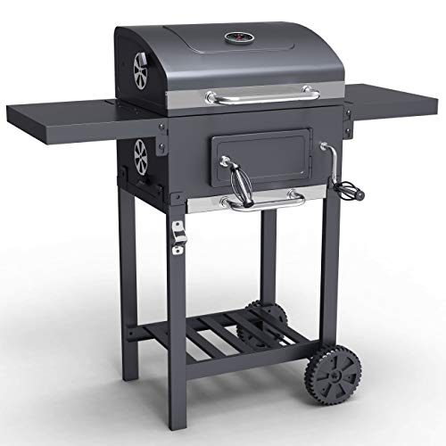 BillyOh Kentucky Smoker BBQ - Charcoal American Grill Outdoor Barbecue (104.5cm x 102cm x 70cm)