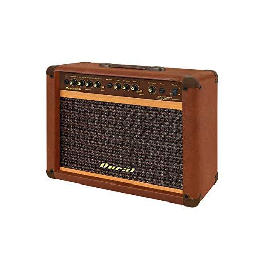 'Amplificador para Guitarra Oneal OCG 300R - Marrom, 60WRMS, Alto-Falante de 10'', com Overdrive.'