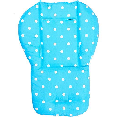DOGKLDSF High Chair Pad, Waterproof Cotton Dining Chair Cushion, Washable Foldable Ikea Child Chair Cushion