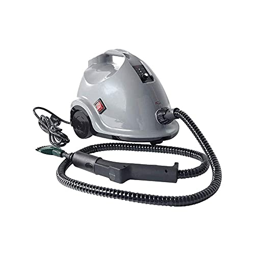 Limpiador de vapor multiusos de 1800W con accesorios, vapor de hogar con tanque de 1.5L para limpieza de productos químicos, máquina de limpieza de rodadura de trabajo pesado para alfombras, pisos, ve